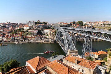 Douro river in Porto, Portugal