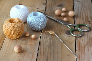 Materials and instruments for needlework