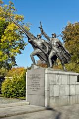 Sculptural composition Victory. Kaliningrad, Russia