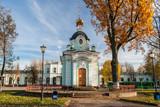Chapel. Pskov. Russia. poster