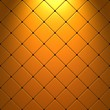 Yellow mosaic with light effect
