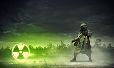 Stalker pulling rope