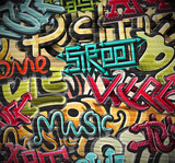 Fototapety Graffiti background