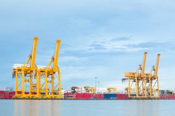 Industrial Port logistic