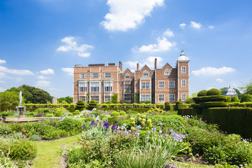 Hatfield House with garden, Hertfordshire, England