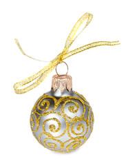 Golden Christmas bauble