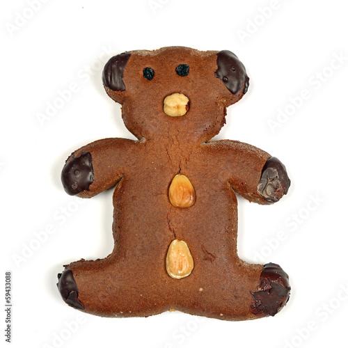 Lebkuchen-Bär