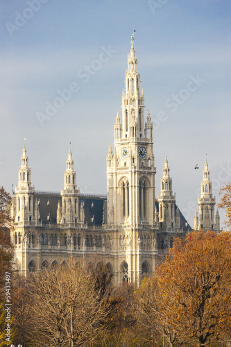 city hall of Vienna, Austria