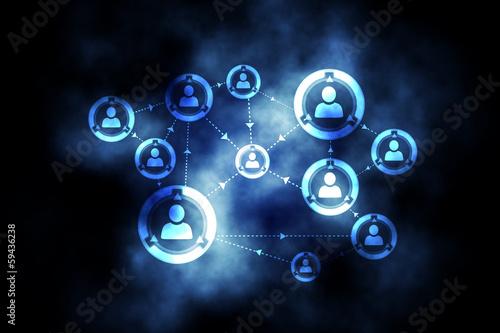 Online community background