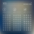 Set of info, business and finance icons