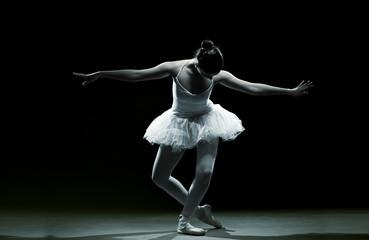 Ballet dancer-action