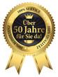 Über 50 Jahre für Sie da! 100% Qualität - Service - Kompetenz