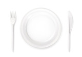 Dinner place setting, vector