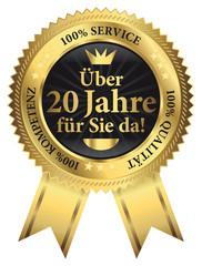 Über 20 Jahre für Sie da! 100% Qualität - Service - Kompetenz