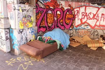 SDF (sans domicile fixe) - Homeless
