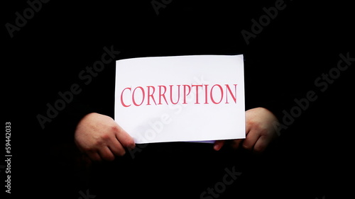 Corruption,crisis,bankcruptcy