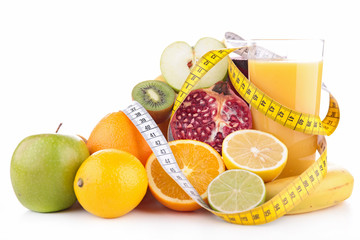 fruit juice and measure