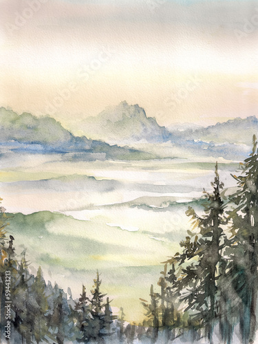 Muntain landscape © dannywilde