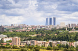 Panorama of Madrid, Capital City of Spain, Europe