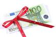 Etrennes, cadeau, 100 euros