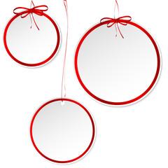 бумажные шары этикетки