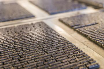 Historische Druckplatten