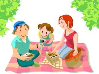 ピクニック 家族