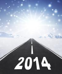 Fahrt ins Neue Jahr