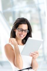 Successful reading on digital tablet