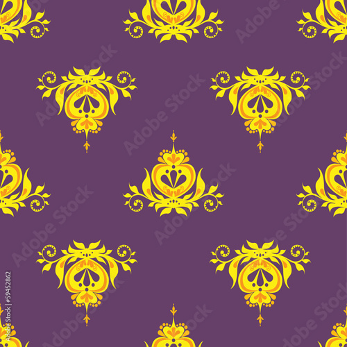 vector illustration seamless background monogram