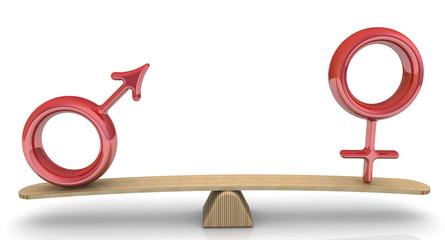 Количественное соотношение мужского и женского пола. Концепция