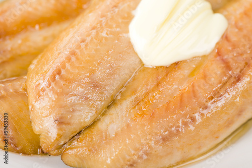 Smoked Kippers - Smoked herring. Typical British breakfast.