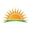Vector Logo sun horizon - 59455608