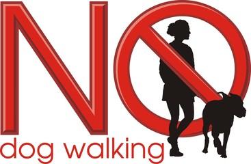 No dog walking