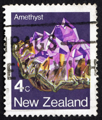 Postage stamp New Zealand 1982 Amethyst, Export