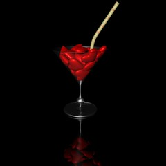 Cocktail of hearts
