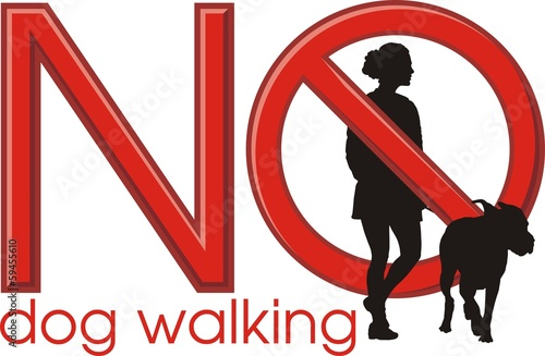 No dog walking