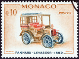 Panhard-Levassor car of 1899 (Monaco 1961)