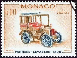 Panhard-Levassor car of 1899 (Monaco 1961)