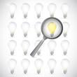 idea under review concept illustration design