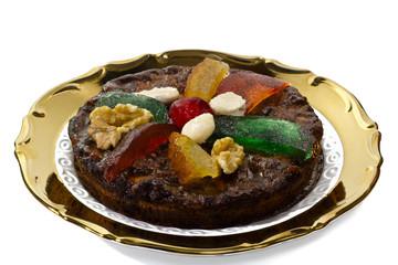 certosino, dolce natalizio tipico dell'emilia romagna