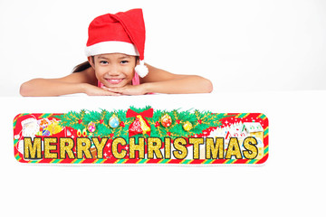 Girl's Christmas Greetings