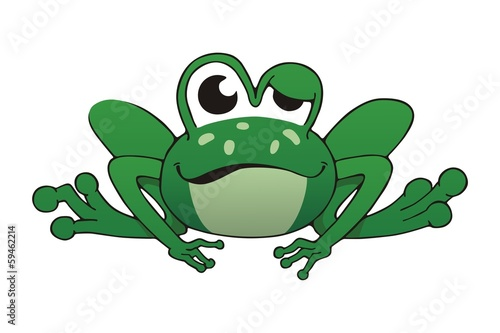 Green One-Eyed Frog