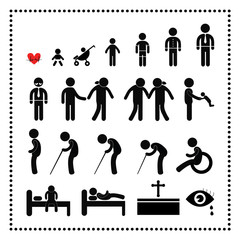 human life symbol
