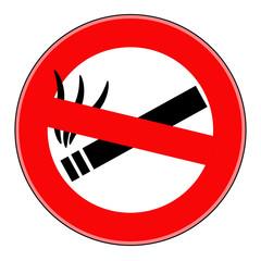 вектор запрещено курить