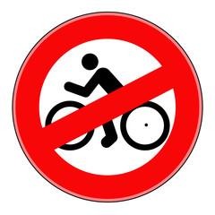 вектор знак запрещено