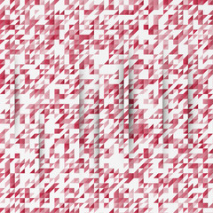 Vector abstract background. Triangles white and red