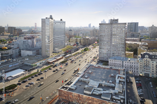 Road at New Arbat Street
