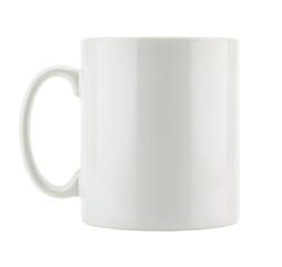 White mug empty blank