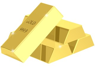 ゴールド 金ののべ棒